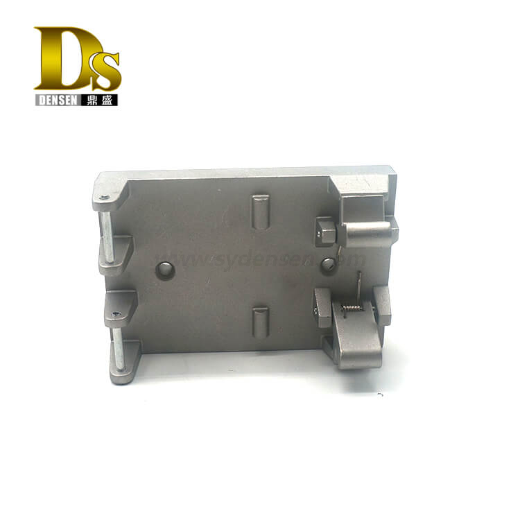 Densen Customized Casting aluminum alloy spare parts for locomotives trains