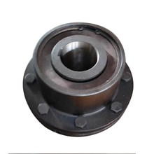 Densen customized GICLZ type gear motor shaft coupling,curved teeth gear couplings,machine shaft coupling