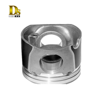 Iron-coated Piston for Engine