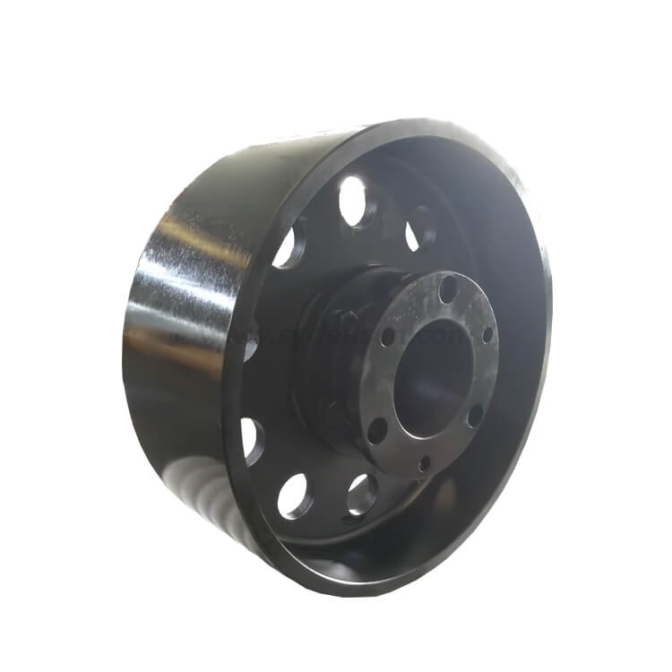 Densen customized steel shaft motor couplings,cnc machining steel coupling for cement equipments