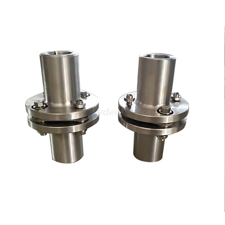 Densen customized JT Type Stainless Steel Diaphragm Shaft Coupling,Stainless Steel Couplings,Flexible Diaphragm Shaft Coupling