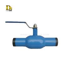 Hot Sale City Heating Fully Welded Ball Valve Dn 20