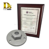 Demsen customized stainless steel 304 Silica sol investment casting Blank flanges blind flange or floor flange