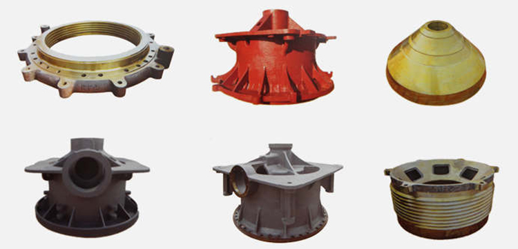 Cone crusher parts