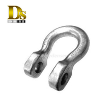 Densen Customized Carbon Steels Forgings Shackles for Civil Engineering Fabricated Foundation Boxes or Tubes
