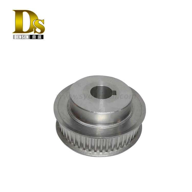 Densen Customized aluminum Precision Machining belt Pulley for Conveying equipment,aluminium machining component