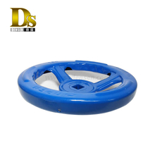 Densen Customized Stamping and welding and painting steel hand wheel for valve,stamping service,metal stamping part