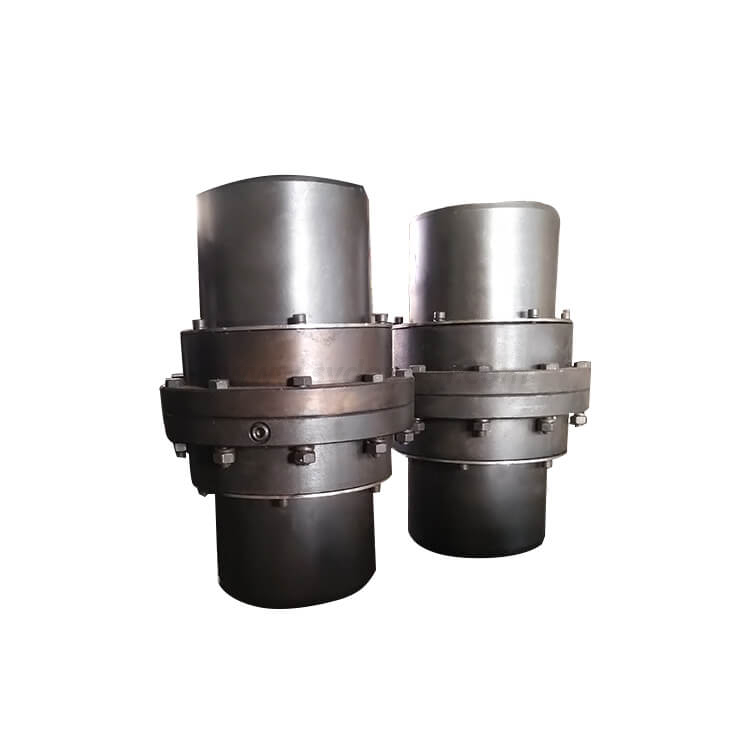 Densen customized GIICL6 type teeth gear couplings,flexible coupling,cnc servise coupling
