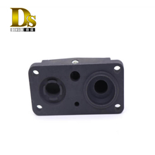 Densen Customized Aluminium gravity-casting Main valve front cover for brake system for railway freight locomotives
