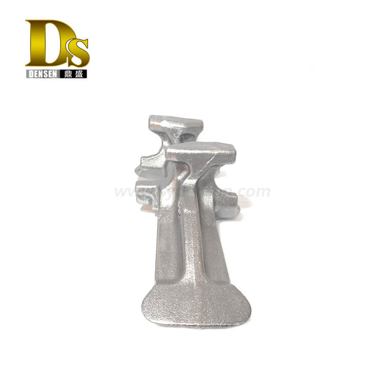 Densen Customized Ductile iron precoated sand casting Core iron for agricultural machinery accessories rubber crawler track