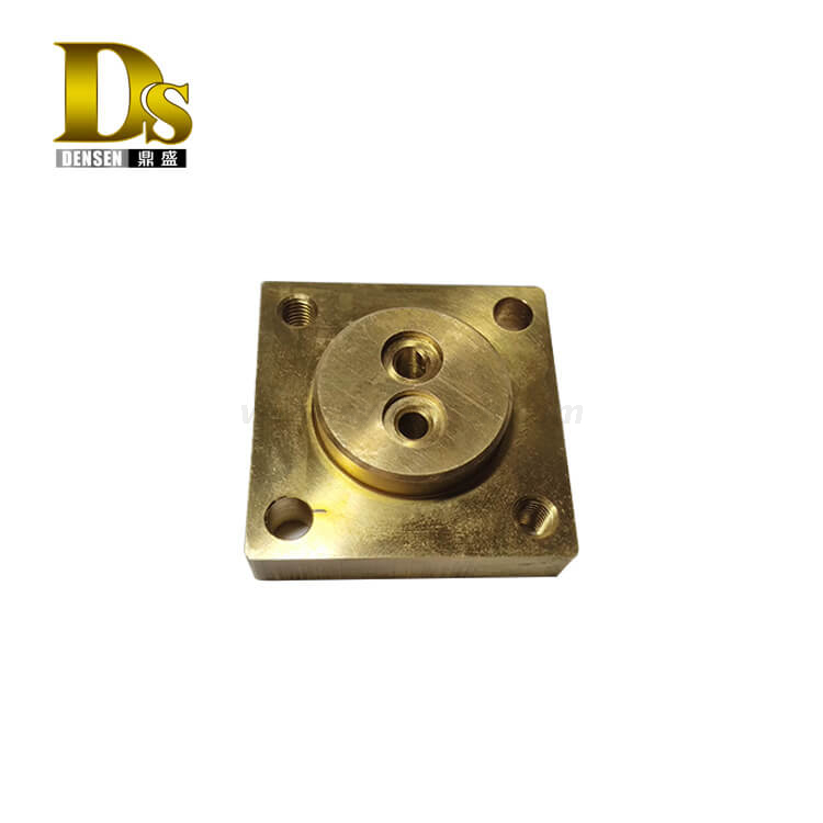 Densen Customized copper machining parts for Electrical components