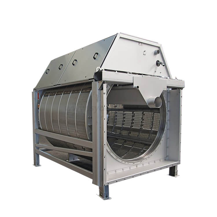 Densen Customized waste trommel screen and trommel filter used in waste Solid Garbage Recycling Separating for size screening