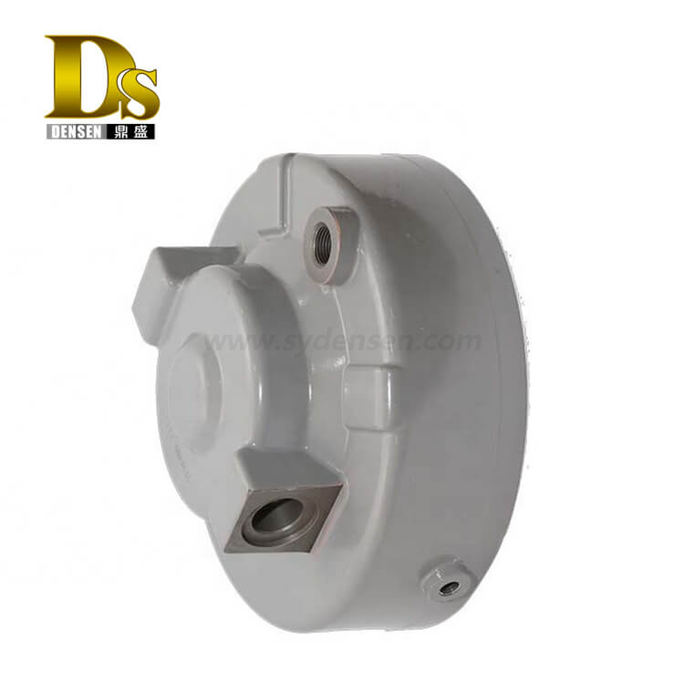 Densen Customized Aluminum Gravity Casting Brake Cylinder Block for Railway Locomotive