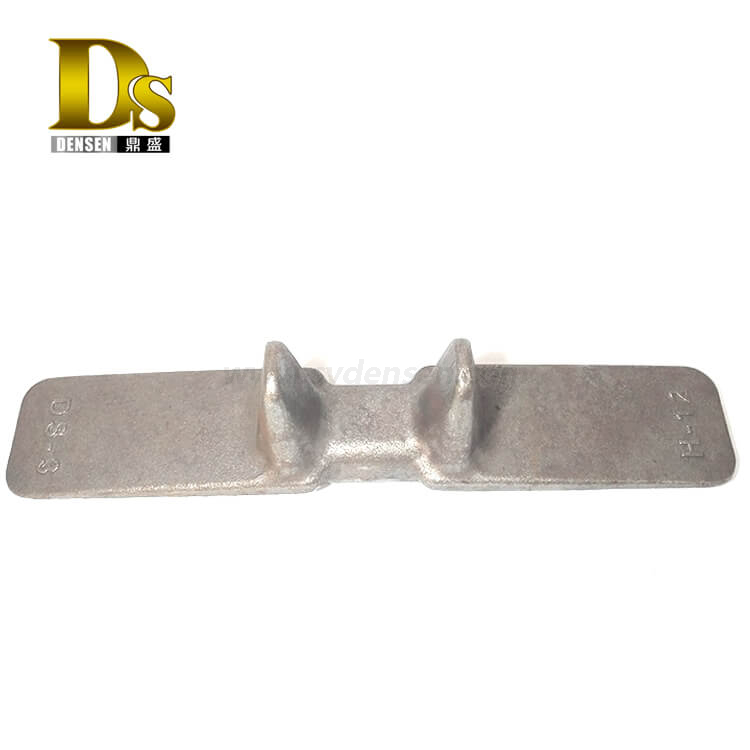 Densen Customized alloy steel Forged steel Core iron for china crawler crane track shoe