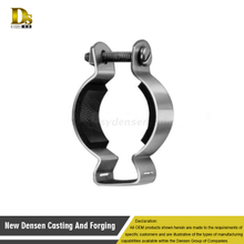 Good quality OEM U-Bolt Clamp , Metal Stamping Pipe Clamp