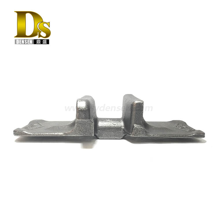 Densen Customized Ductile iron precoated sand casting Core iron 57k for crawler crane track shoe