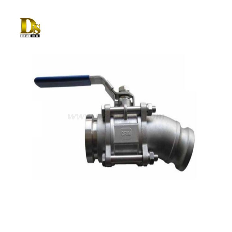 China High Quality Stainless Steel 3 Way Ball Valve