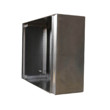 Densen Customized High Quality Outdoor Waterproof Electrical Stainless Steel Distribution Box Steel Metal Enclosure
