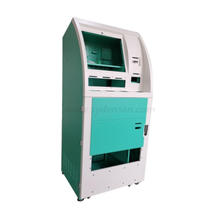 Densen customized Atm card skimmer inch automatic ordering self service touch screen payment kiosk with thermal printer