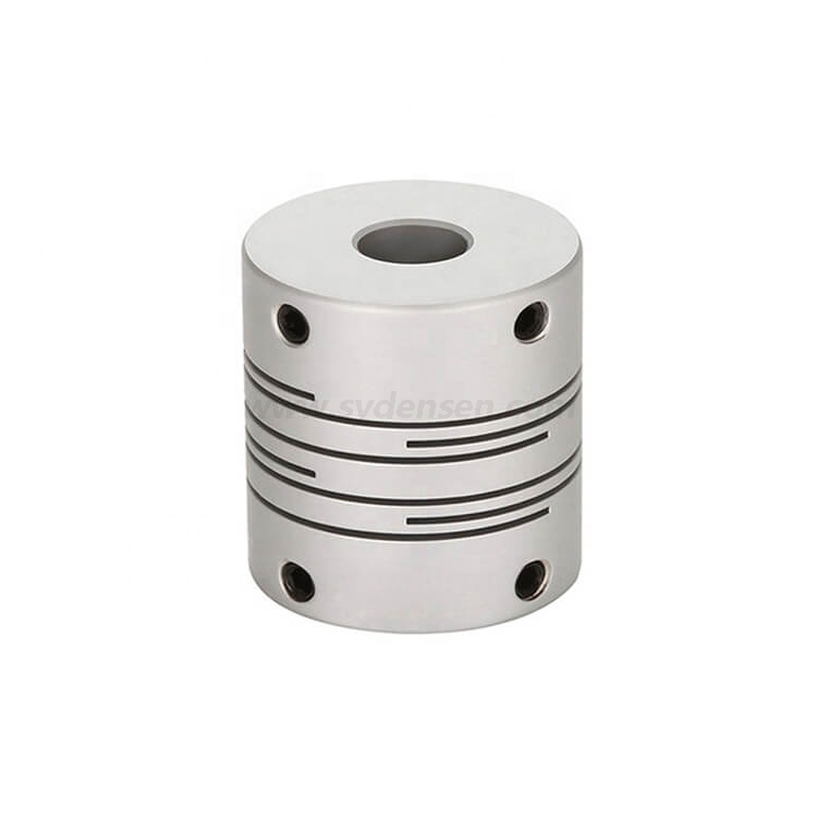 Densen customized Good Quality Set Screw Electric Motor Rigid Shaft Coupling