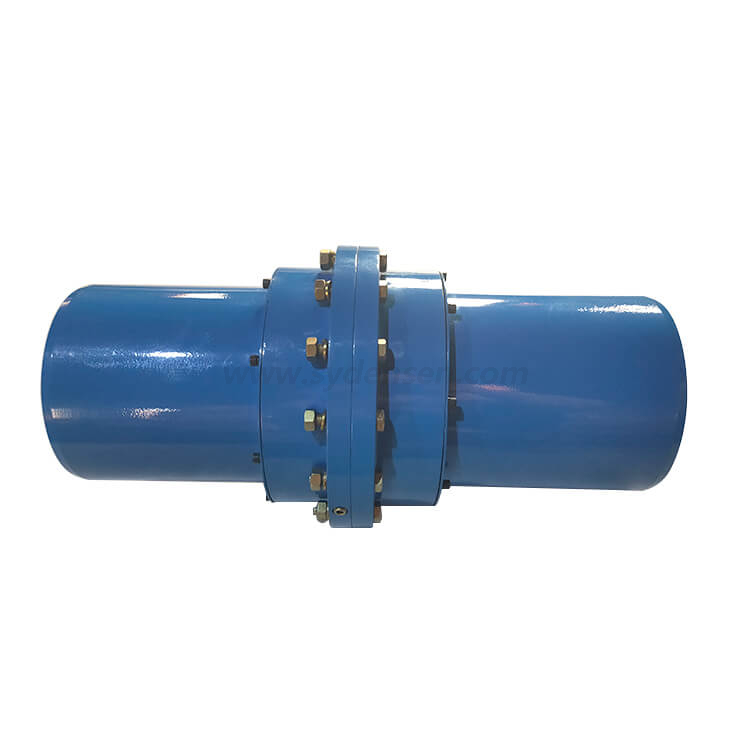 Densen customized large type gear couplings,curved tooth gear coupling