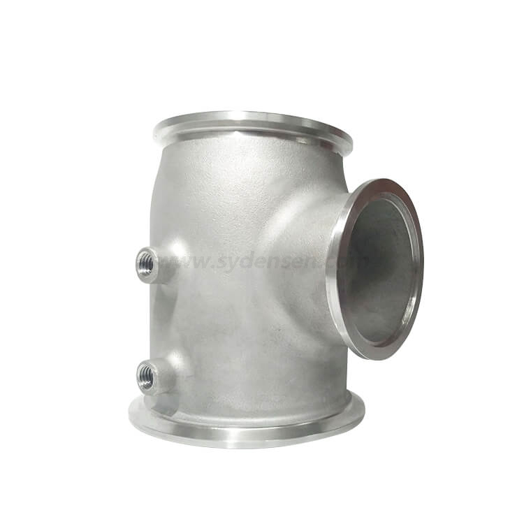 Densen Customized Stainless Steel 304 Silicon Sol Investment Casting Ball Valve Seat Cast Iron