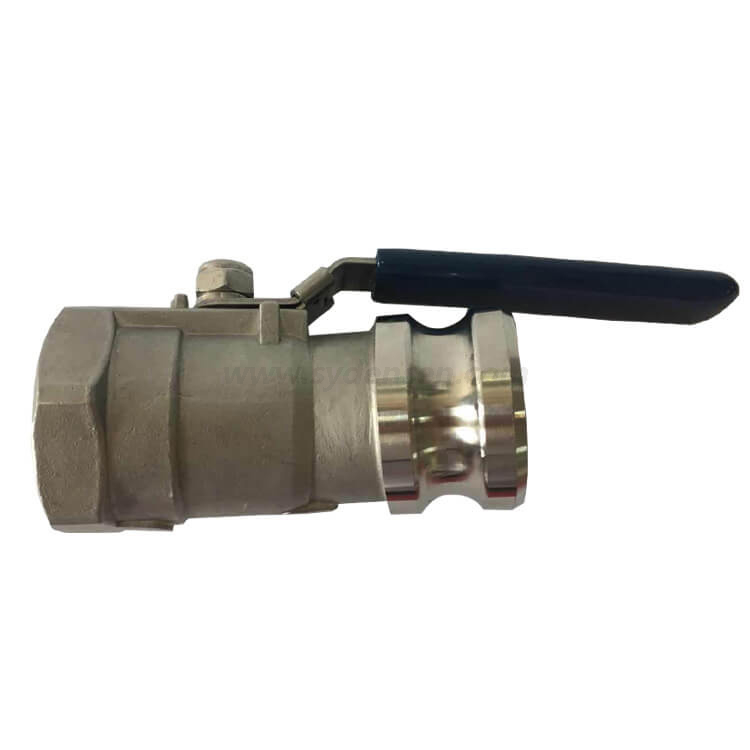 Densen customized Low pressure stainless steel investment casting 1pc ball valve,factory supply high quality ball valve