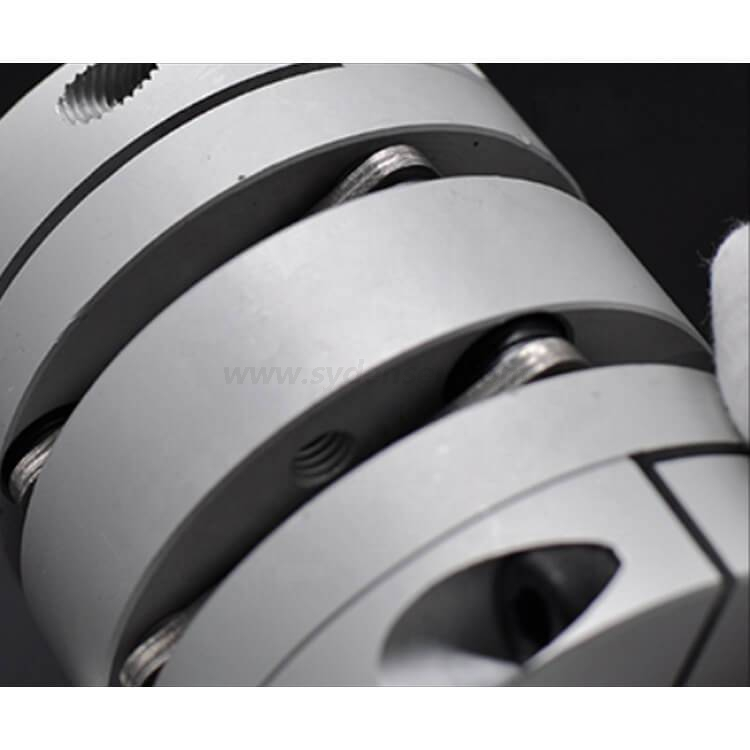 Densen customized Servo motor couplings,micro diaphragm coupling,aluminum coupling for Servo motor