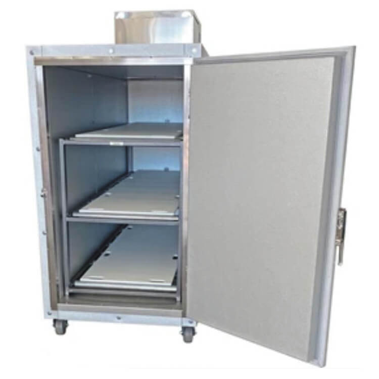 Densen Customized Three bodies morgue refrigerator corpses cabinet mortuary coolers