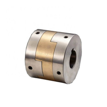 Densen customized Aluminum bronze flexible oldham coupling