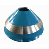 Densen Customized Crusher accessories Conical broken liner Rolling mortar wall